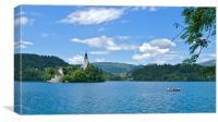 Lake Bled,  Slovenia, Canvas Print