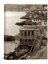 Harbour Charm, Canvas Print