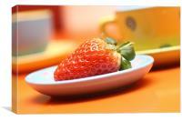 strawberry, Canvas Print
