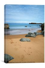North Berwick Beach, Canvas Print