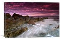 Coastal Sunrise, Canvas Print