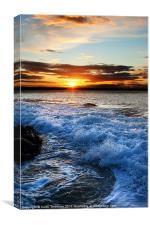 Dunbar Sunset, Canvas Print
