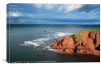 Dunbar Coast Line, Canvas Print