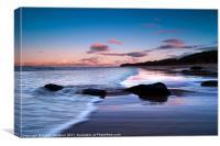 Tantallon Beach, Canvas Print