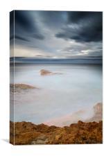 Dunbar Coast Calm, Canvas Print
