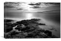 Black Rock Coast, Canvas Print