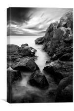 Rocks to Sea, Canvas Print