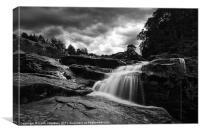 Falls of Dochart, Canvas Print