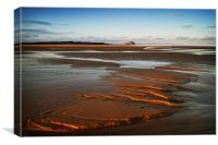 Ravensheugh Beach, Canvas Print