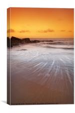 Gullane Bents Beach, Canvas Print