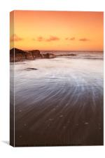 Gullane Beach, Canvas Print