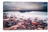 Prestonpans Harbour, Canvas Print