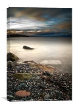 Pebbles to the Forth, Canvas Print