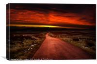 Lammermuir Hills Sunrise, Canvas Print