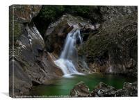 Lower Bruar Falls, Canvas Print