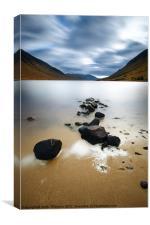 Loch Etive, Canvas Print