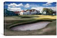 18th Green Muirfield Golf Club, Canvas Print