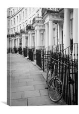 Royal Crescent London, Canvas Print