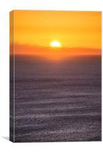 East Coast Sunrise, Canvas Print