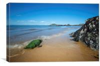 Fidra Beach, Canvas Print