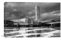 Donegall Quay, Canvas Print
