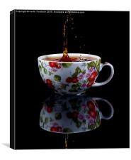 Tea Drops, Canvas Print