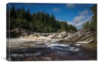 River Orchy, Canvas Print