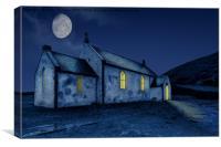 Old Highlands Church, Canvas Print