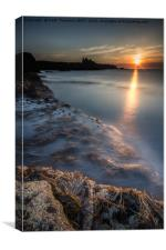Tantallon Castle Sunset, Canvas Print