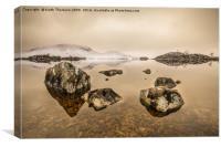 Rannoch Moor , Canvas Print