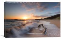 Seacliff Beach, Canvas Print