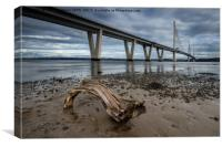 Queensferry Crossing, Canvas Print