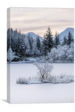 Loch Lochan Winter, Canvas Print