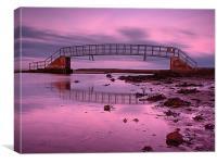 Dunbar Coast Bridge, Canvas Print