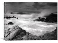 Rough Seas, Canvas Print