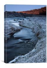 Cold River, Canvas Print