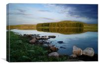 Whiteadder Reservoir, Canvas Print