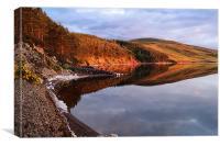 Whiteadder Reservoir, Canvas Print