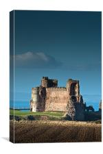 Tantallon Castle, Canvas Print