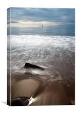 Alnmouth Coast, Canvas Print
