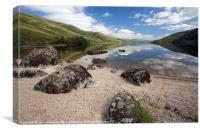 Loch Arkaig, Canvas Print