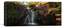 Waterfall in Lochaber., Canvas Print