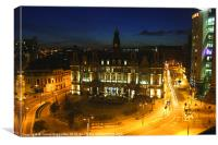 City Square - Leeds, Canvas Print