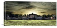 Wentworth Woodhouse Sunset, Canvas Print