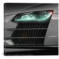 Audi R8, Canvas Print