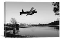 Low Pass, Canvas Print