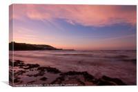 New Quay Sunset, Canvas Print