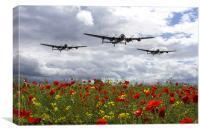 Lancaster Remembrance, Canvas Print