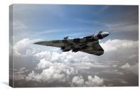 Vulcan Airborne, Canvas Print