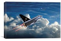 Interceptor, Canvas Print